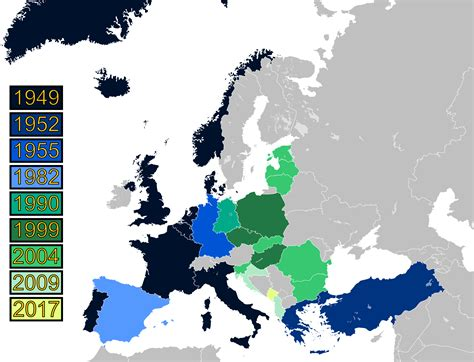 map of current us allies nato s new order the alliance after the cold war