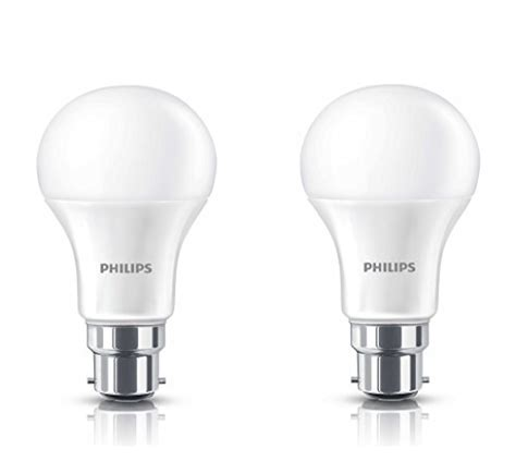 Philips B22 9 Watt buy wipro garnet b22 9 watt led bulb on