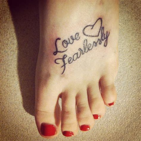 love fearlessly tattoo best 25 fearlessly ideas on back