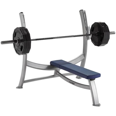 cybex flat bench cybex olympic bench gym source