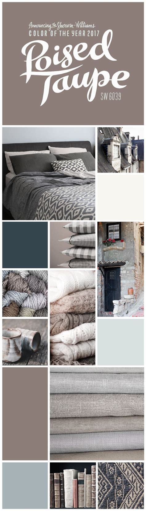 sherwin williams poised taupe color palette 17 best ideas about taupe color schemes on pinterest