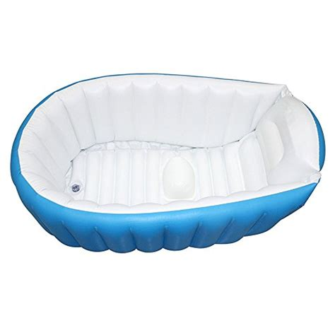travel bathtub baby inflatable bathtub flymei portable infant toddler