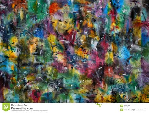color painting abstract color painting stock illustration illustration