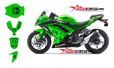 Striping Motor Kawasaki R 2011 Hijau modif striping kawasaki 250r fi warna hijau one motoblast