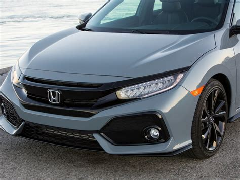 Front Sport Grille Honda New Civic 2017 honda civic hatchback grill car reviews pictures