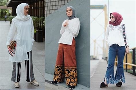 Dijamin Celana Pleats 8 Model Celana Ini Wajib Dimiliki Oleh Hijabers Masa Kini