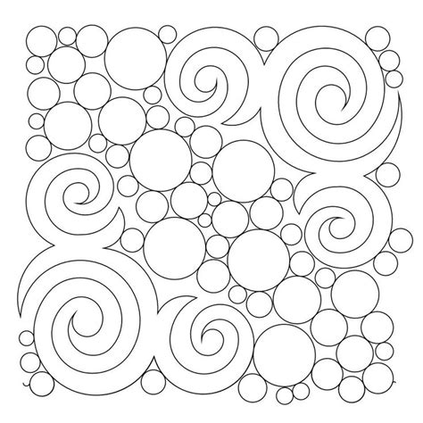 free motion quilting swirls and circles quilt addicts shop category bubbles circles pearls pebbling product