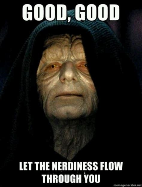 Star Wars Nerd Meme - star wars memes powerpointless temporary backup