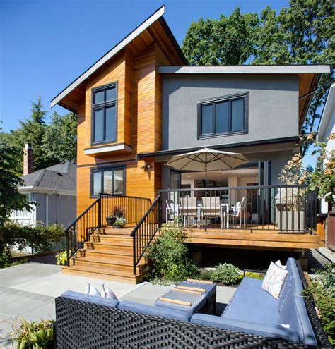 shed style house asymmetrical overhaul contemporary exterior