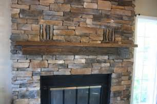 stacked fireplace traditional family room new