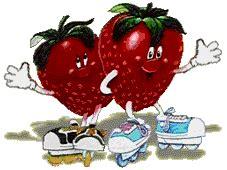 imagenes gif zanahorias imagenes animadas de fresas gifs animados de alimentos