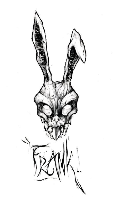 Frank The Bunny Outline frank sketch by zankara on deviantart