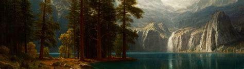 Lighting Style by Albert Bierstadt The Complete Works Albertbierstadt Org