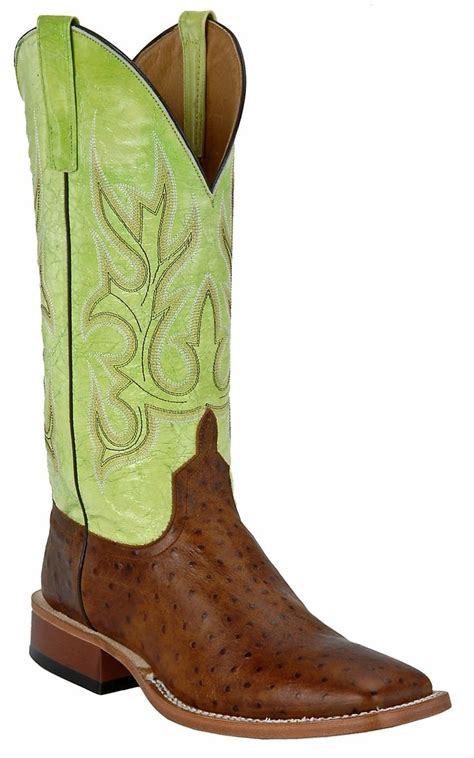 cavenders mens boots bean 174 power mens brown ostrich print with
