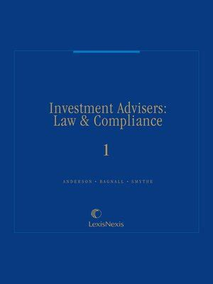 Investment Advisers Law Compliance By James E Anderson 183 Overdrive Rakuten Overdrive Investment Advisor Compliance Manual Template
