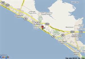 map of panama city days inn panama city