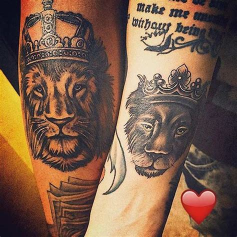 tattoo my queen 40 king and queen tattoos for lovers that kick ass