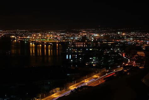 Honolulu City Lights by Honolulu City Lights Photograph By Saya Studios
