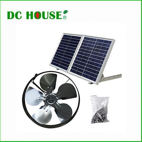 solar gable attic fan buy wholesale solar attic fan from china solar