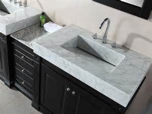 Bathroom countertops with integrated sinks home design ideas