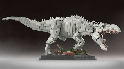 Lego Dino Indominus Rex Jurassic World Yg77005 2 lego indominus rex concept wants to escape from lego ideas technabob