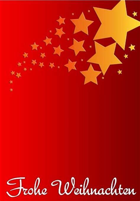 Kostenlose Vorlage Weihnachtskarte Weihnachtskarte Mit Sternen