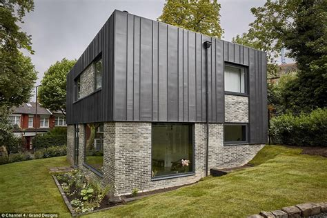 grand designs house plans grand designs couple design statement london box house daily mail online