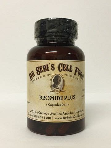 How To Detox Bromide by Food And Products On