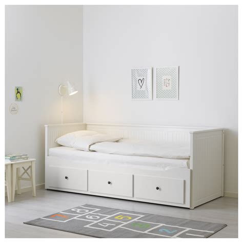 ikea hemnes day bed hemnes day bed frame with 3 drawers white 80x200 cm ikea