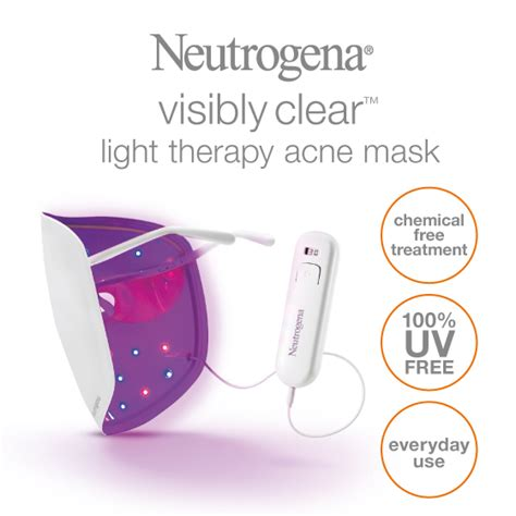 does neutrogena light therapy acne mask work buy neutrogena light therapy acne mask kit online at