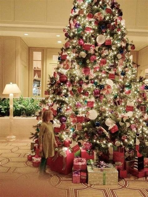 beautiful giant tree merry christmas pinterest