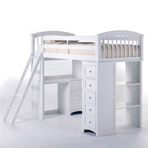 white loft bed with desk 25 best bunk bed desk ideas on pinterest bunk bed with