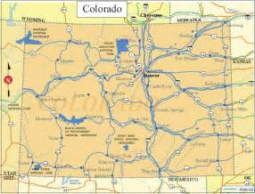 colorado map of state printable us state maps printable state maps