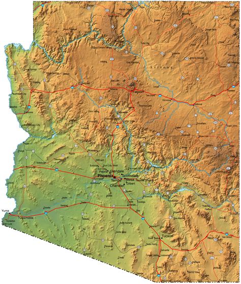united states map arizona the mine is a large copper mine located in arizona in