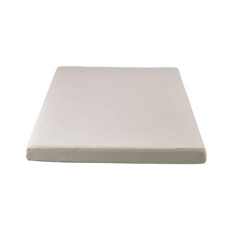 foam mattresses simmons siesta 3 in blue size memory foam roll up mattress imce050tw the home depot