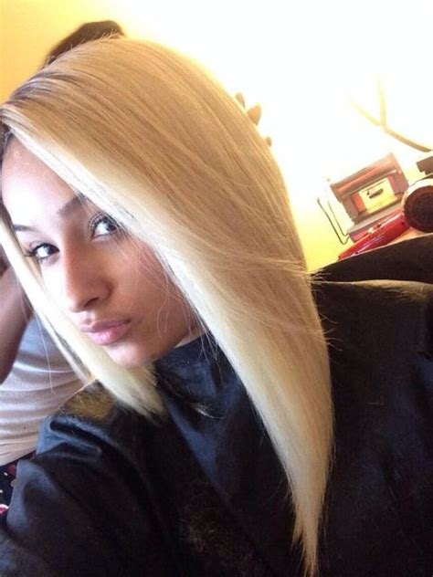 platinum blonde weave malaysian straight hair platinum line bobs extensions