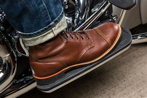 red motorbike boots 2016 red wing shoes collection for indian motorcycle clad