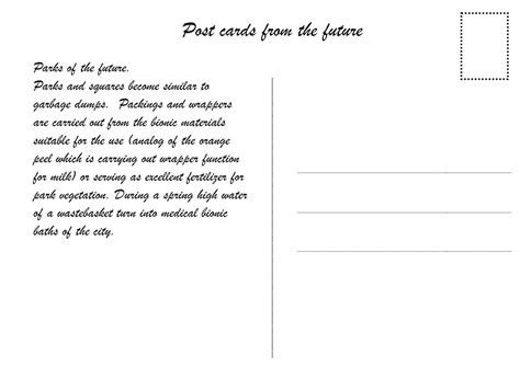 back of postcard template photoshop gallery of cybertopia the digital future of analog architectural space 38
