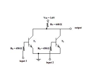 resistor transistor logic advantages resistor transistor logic resistor transistor logic japaneseclass jp