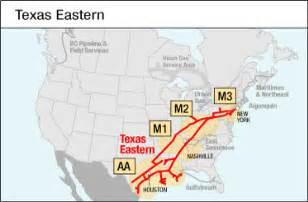 eastern transmission map link informational postings