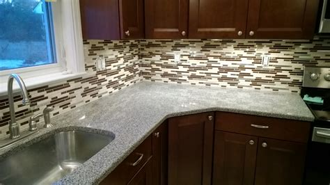 Kitchen Backsplash Glass Tile by Glass Mosaic Backsplash Sjm Tile And Masonry