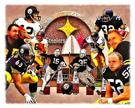 steel curtain hall of famers steelers