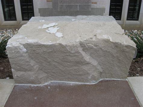 Patio Size File Limestone Block At The Indiana Memorial Union Jpg