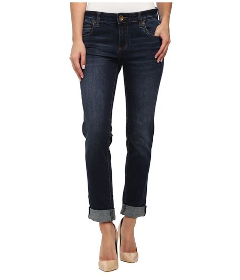 Kulot Jins kut from the kloth catherine boyfriend in easily at zappos