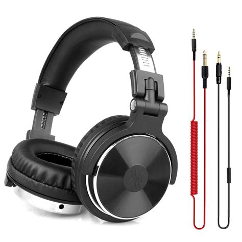 Headset Dj oneodio dj headphones professional studio pro monitor gaming headset wired ear stereo