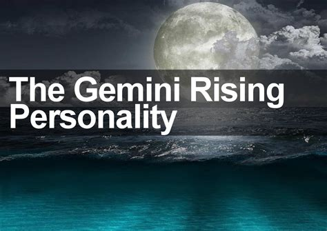 gemini rising personality know the truth about ascendant