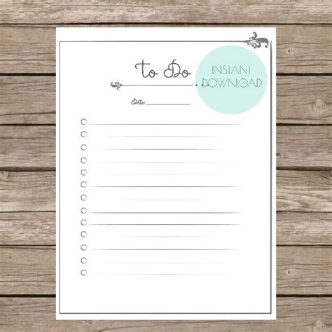 etsy printable to do list items similar to printable to do list elegant on etsy