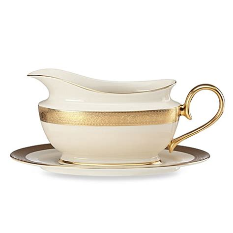 bed bath and beyond westchester buy lenox 174 westchester sauce boat with stand from bed