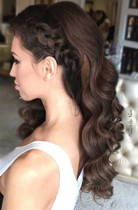 evening hairstyles for long straight hair best 25 side hairstyles ideas on pinterest side hair