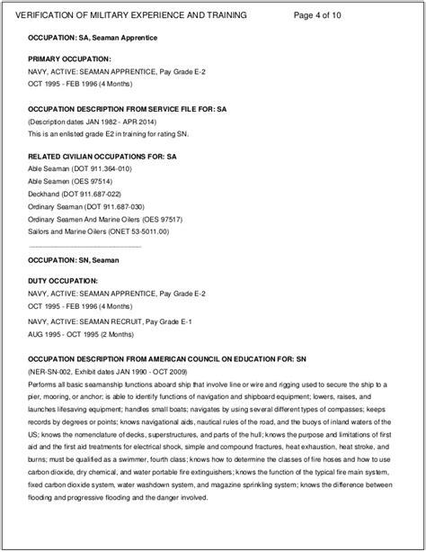 free resume sle for application application letter sle seaman 28 images vmet document resume exle seaman resume ixiplay